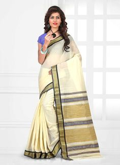 Buy saree online. Customization and free shipping worldwide. Genius cotton   casual saree for casual and party.