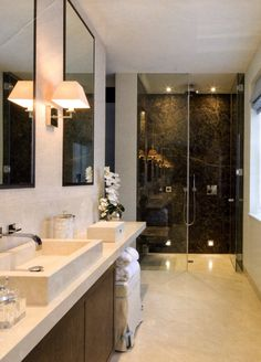 1000+ images about Bathroom Ideas on Pinterest | Narrow ... on Nice Bathroom Designs For Small Spaces  id=42897