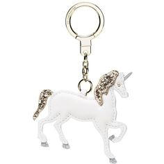 Kate Spade Unicorn Keychain (€60) ❤ liked on Polyvore featuring home, home decor, inspirational home decor, kate spade, unicorn home decor and kate spade home decor