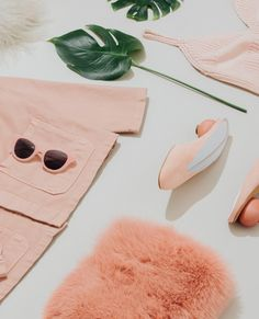 Once reserved for only the girlish and dainty, pale blush has become the new neutral. The new pink has become almost subversive and rebellious, a sort of in-your-face femininity that defies the hues former connotation. Whether it's a statement lip, a bold sunglass shape, or a whimsical egg under your heel, pink is here to stay. Shop our edit below.
