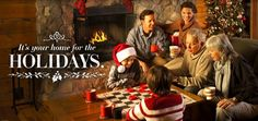 Let Brown County, Indiana be your Home for the Holidays.