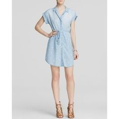 Bella Dahl Shirt Dress - Bloomingdale's Exclusive Chambray