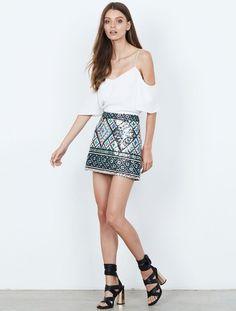 Isla - Momentum Print Skirt