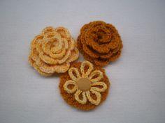 Flores de crochê