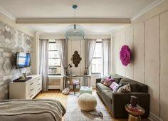 Love this small  apartment! ACHADOS DE DECORAÇÃO - blog de decoração