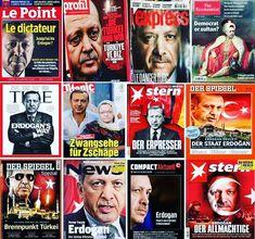 Avrupada... Tüm BATI medyasında... Manşetlerde HEP ERDOĞAN VAR... Batı medyası, Mısır'da darbe yapan SİSİ'ye saldırmıyor, Suriye'de katliam…