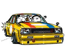 """""""crazy car art"""" jdm japanese old school """"B310"""" original characters """"mame mame rock"""" / © ozizo Official web shop """"STAY CRAZY (in Society6)"""" Official web shop """"ozizo(in Redbubble"""") """"Crazy Car Art"""" Line stickers """"Crazy car Art"""" Telegram stickers"""