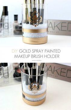 spray-painted-gold-makeup-brush-holder-pinterest.jpg (658×1024)