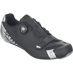 66e0b72deafb Scott Road Comp BOA Cycling Shoe Mens Matte Black Silver 46.0 For Sale  https