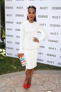 Kerry Washington: Trend to Try: All White Everything