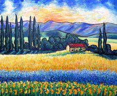 Toujours Provence by Cristina Stefan | Artfinder