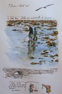 St-Briac • Yann Lesacher, Une Bretagne par les contours