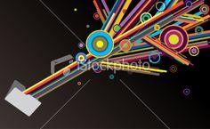 Creativity folder Royalty Free Stock Vector Art Illustration