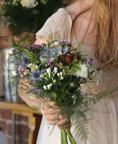 Flower Design Events: Hedgerow Flowers and Herbs for Caroline & Craig's Glorious TeePee Wedding