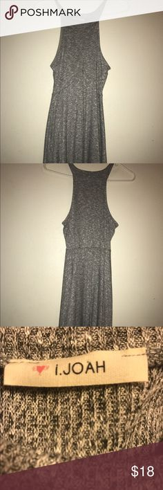 Free People Dress Cute gray dress, flattering, comfy and trendy. Worn once but like new. I'm not for sure that it is from Free People, I can't remember. Accepting offers I.Joah Dresses