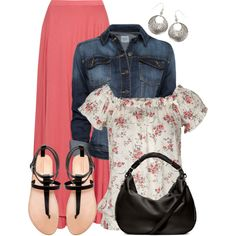 """""""Floral"""" by wishlist123 on Polyvore"""