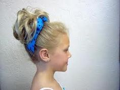 cheerleading hairstyles…or for me, not a cheerleader, cute hairstyles! Bun Hairstyles For Long Hair, Little Girl Hairstyles, Hair Dos, Cute Hairstyles, Braided Hairstyles, Cheer Hair, Cheer Bows, Bow Braid, Cute Buns