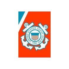 """United States Coast Guard (USCG) Flag 28x40"""""""