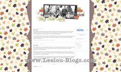 Leaves Premade Blog Design