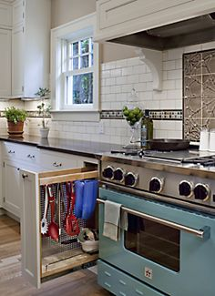 love the blue stove more cabinets stove kitchens design traditional