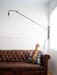 """onefortythree """"potence"""" diy lamp"""