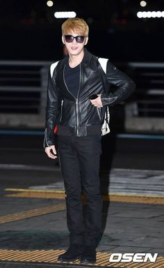 20170128 Kim Jae Joong at Incheon International Airport, heading to Brisbane, Australia for a photoshoot with COSMOPOLITAN