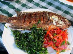 Fried Fish, Kenyan food
