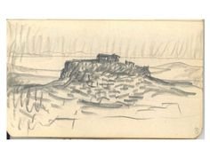 "Charles Édouard Jeanneret, Sketch Of The ""acropolis Of Athens"", On His Journey To The East"