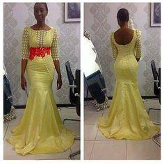 Longue robe de soiree
