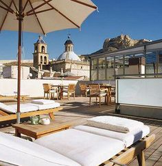 Roof Terrace at Hospes Amerigo - Alicante - Spain