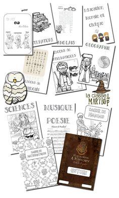Pages de garde Harry Potter