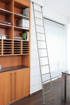 New White Library Ladder
