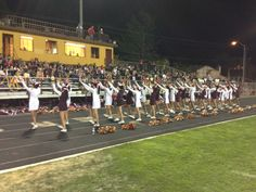 Sparks High School football gets pumped up from these cheerleaders.