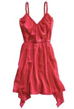 Brides.com: . Chiffon and satin bridesmaids' dress, $159, Alfred Angelo  Browse more bridesmaids dresses.