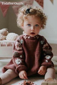 Cutie in our deep berry Flora romper for kids what a cute outfit for little girls Photo by mumma sunshine shirleybredal kidsfashion chi Cutie in our deep berry Flora romper for kids what a cute outfit for little girls Photo by mumma sunshine nbsp hellip Little Girl Photos, Little Girls, Knitting For Kids, Baby Knitting Patterns, Pull Bebe, Rompers For Kids, Baby Pullover, Kids Fashion Boy, Baby Shirts