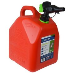 Scepter 5 Gallon Smartcontrol Gas Can Fr1g501 Red Walmart Com Gas Cans Fuel Storage Gas