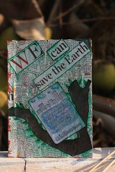 DIY Project : Recycled Scrap Paper Notebook