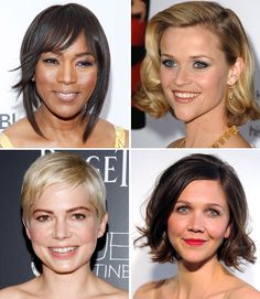 Chic Celebrity Short Hairstyles  Cuts Get step-by-step instructions from stylists on how to get these star chich short looks.