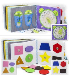 BLACK FRIDAY 10% OFF Quiet Book Busy Book Eco friendly by MiniMoms