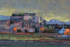 Jacques Peyrelevade-Château de Grignan - Peinture,  24x35 cm Matisse, Art Gallery, Art Original, Contemporary Landscape, Oeuvre D'art, Architecture Art, Les Oeuvres, Provence, France