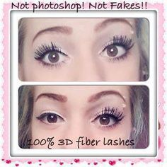 Younique 3D Fiber Lashes Mascara gives INSTANT RESULTS that stay on until you wash it off! Both tubes come in a beautiful leather case, last for 8 weeks of use, natural, lengthen lashes by 300%! For best results, use with Mary Kay® Lash Love® Lengthening™ Mascara! https://www.facebook.com/pages/Amy-Nelson-Mary-Kay-Independent-Beauty-Consultant/333016923511453?ref=hl