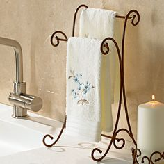 Towel Stand got this for my guest bath Decor, Kitchen Projects, Princess House Crystal, Towel, Pretty Bathrooms, Princes House, Princess House, Bath Remodel, Tiny House Plans