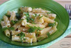 #Pasta con #ricotta e #rucola #ricetta #foodporn #gialloblogs