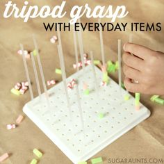 how to make a tripod with household items