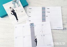 planner semanal vertical e horizontal Planners, Printables, Lettering, Bujo, Prints, Diy, Bullet Journal, Breakfast At Tiffanys, Stationery Shop