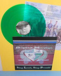 DROPKICK MURPHYS sing loud sing proud LP Record GREEN Vinyl w/ lyrics insert #PunkNewWave