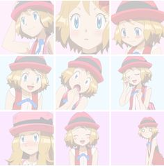 Pokemon XY XYZ Serena Anime #animegirls icons