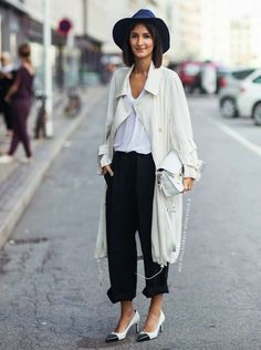 Style Tip: Summer Hats To Wear In the City   Visual Therapy - black and white - summer hat