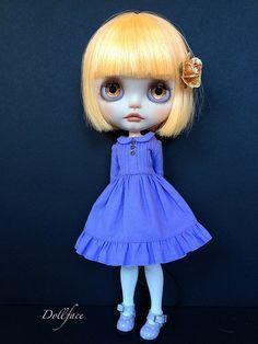 Dress by Dressing Blythe Etsy | by DollFace Blythe