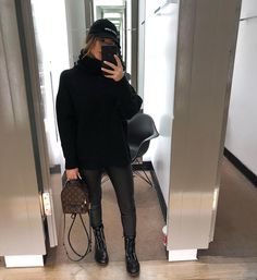 Best Winter Fashion Outfits Part 10 Winter Fashion Outfits, Fall Winter Outfits, Look Fashion, Autumn Winter Fashion, Trendy Outfits, Cute Outfits, Womens Fashion, Outfit Invierno, Mode Jeans